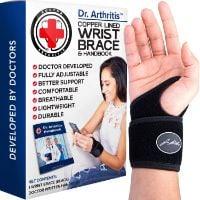 Dr Arthritis Copper Wrist Brace
