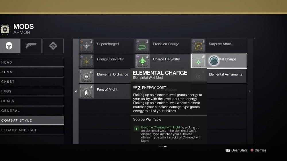 Elemental Charge Mod