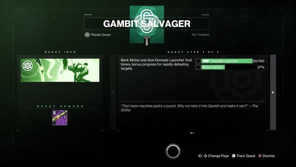 Gambit Salvager