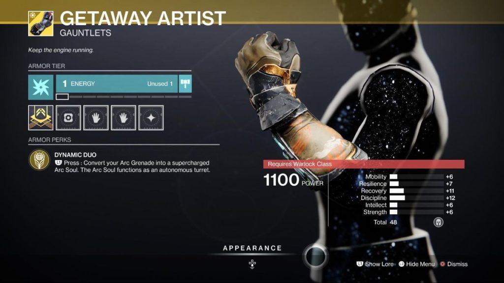 Getaway Artist