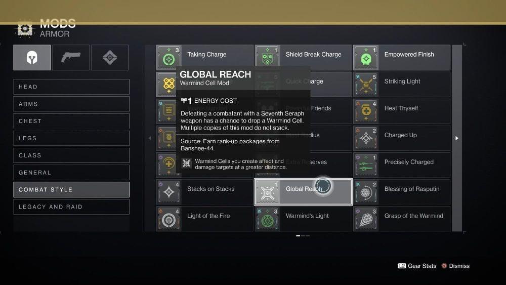 Global Reach Mod