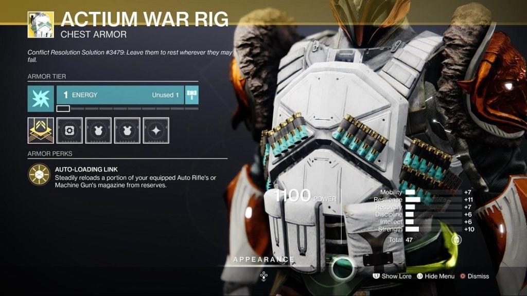 HGG Actium War Rig Titan Build