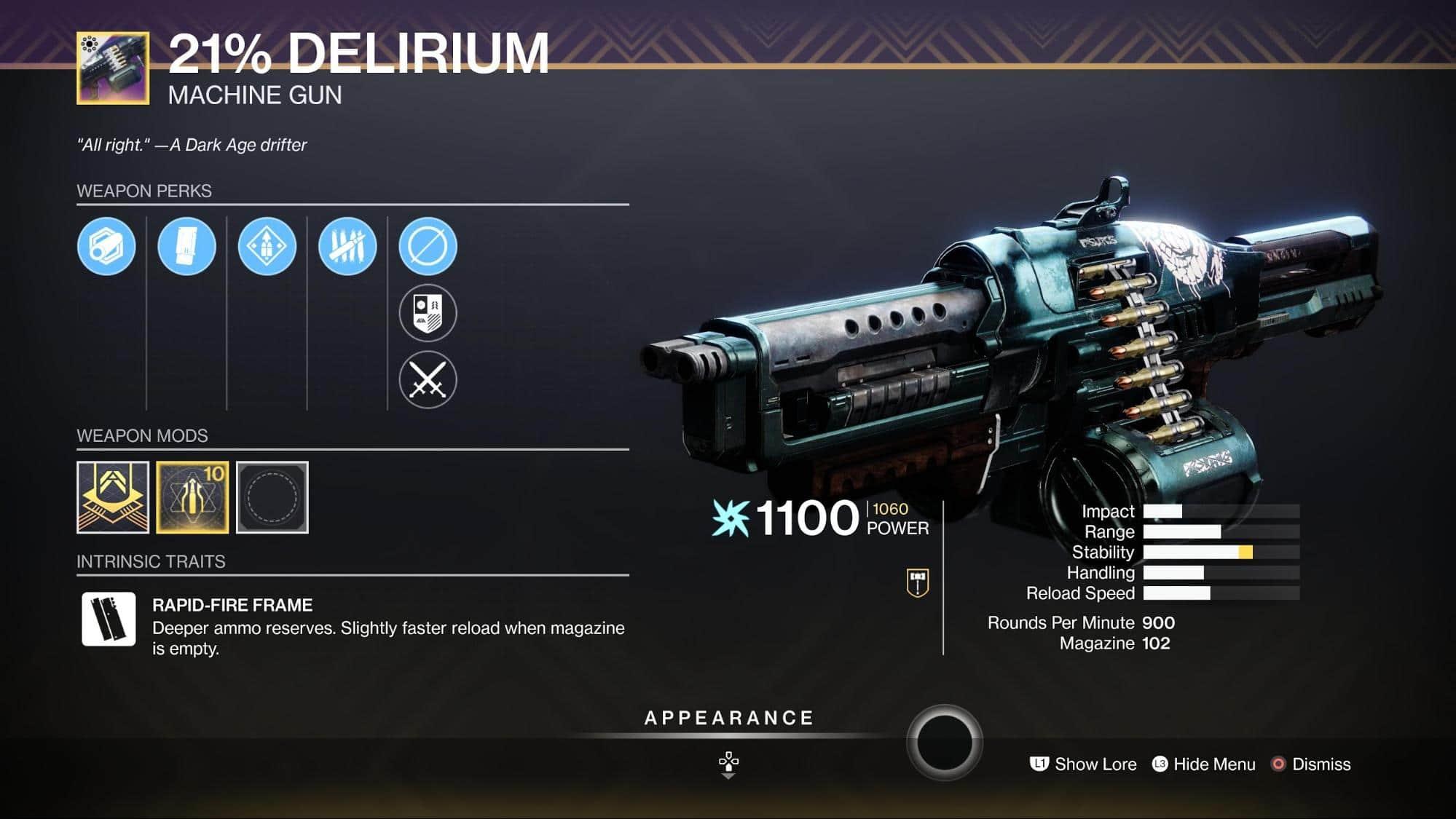 HGG Destiny 2 21-Delirium