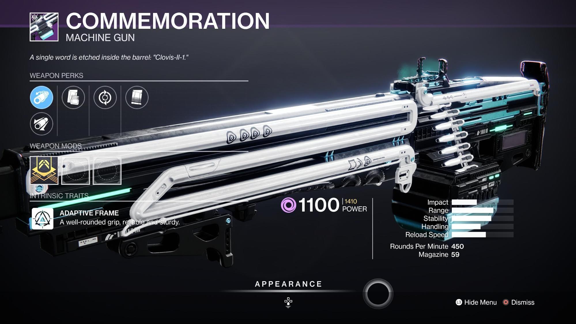 HGG Destiny 2 Commemoration
