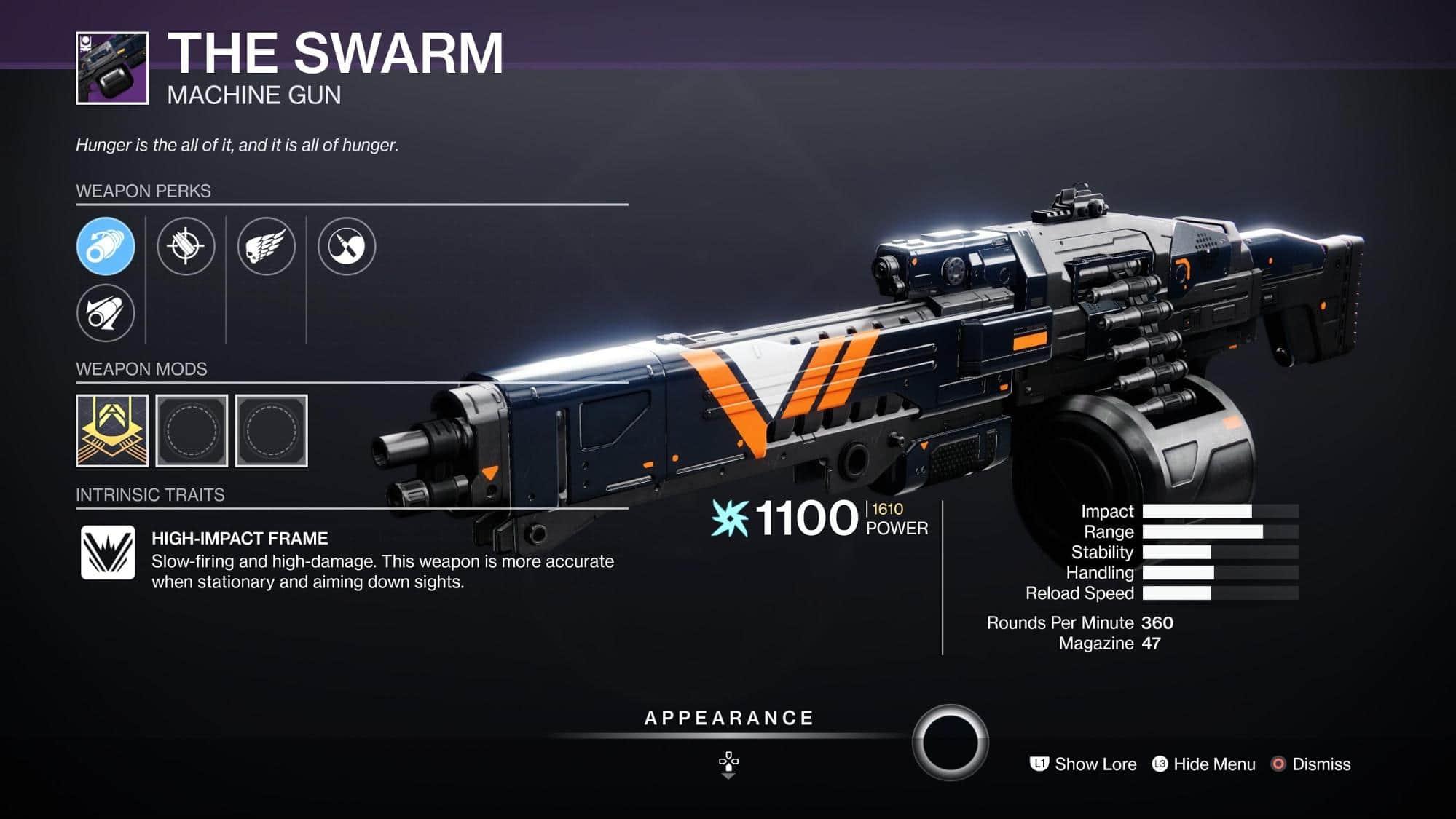 HGG Destiny 2 The Swarm