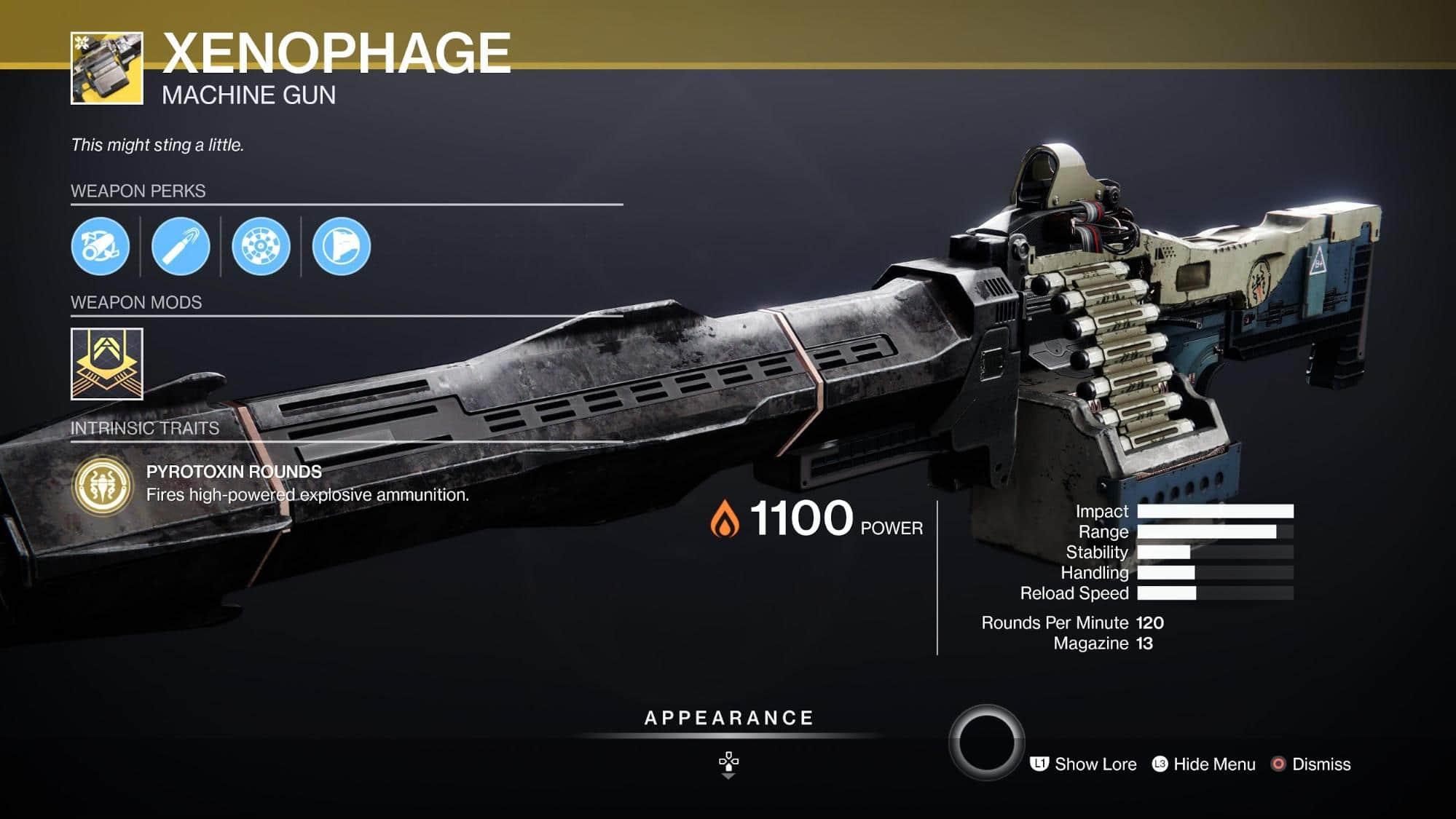 HGG Destiny 2 Xenophage