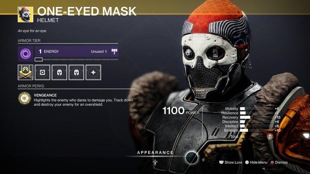 HGG One-Eyed Mask Titan Build