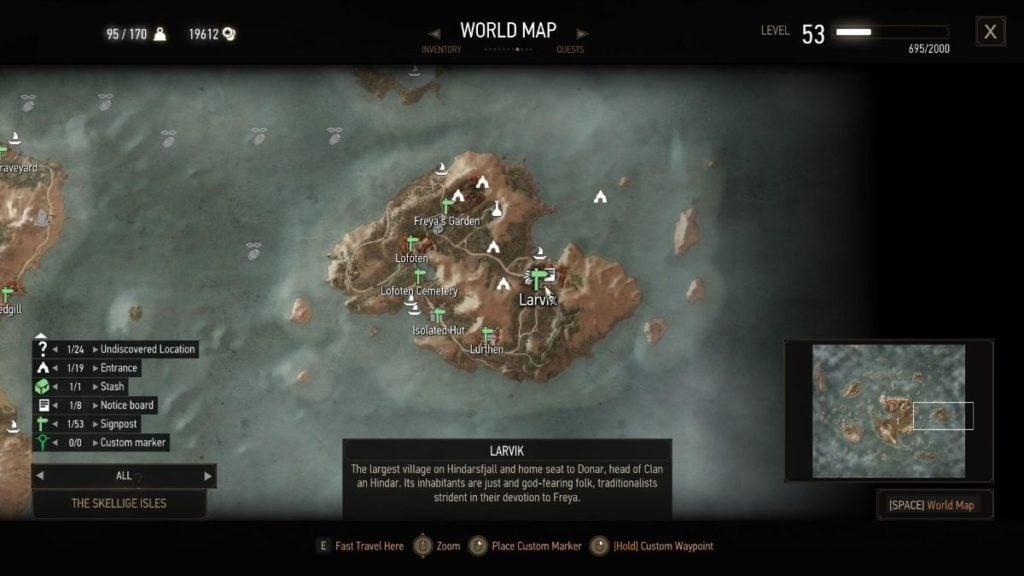 Larvik Map