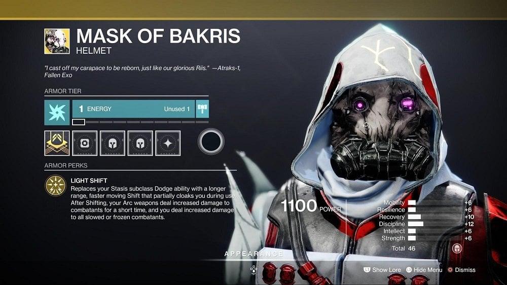 Mask of Bakris - Hunter Builds 5