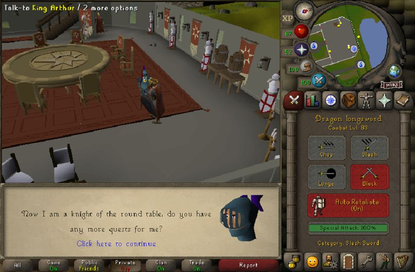 OSRS P2P Combat Guide 2