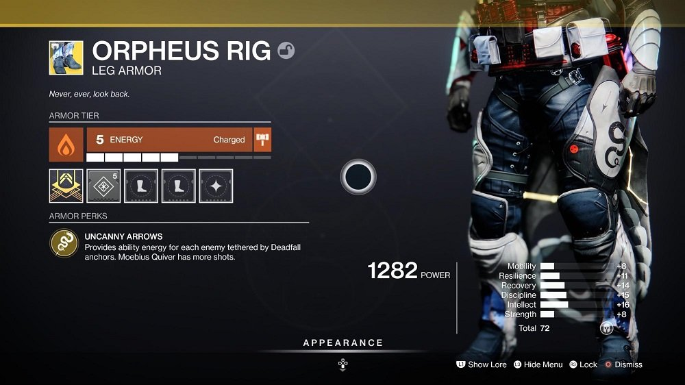 Orpheus Rig - Hunter Builds 8