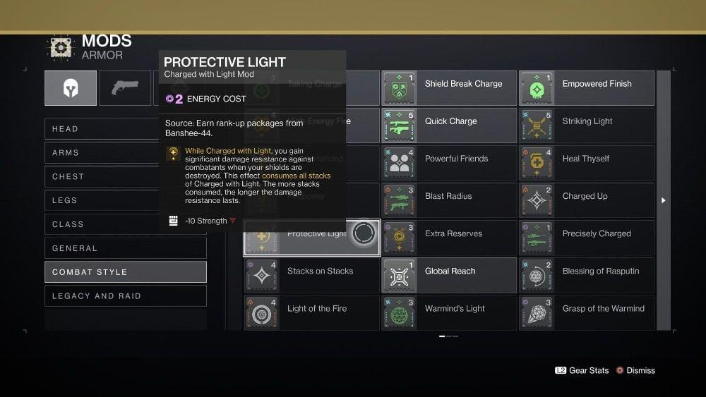 Protective Light Mod