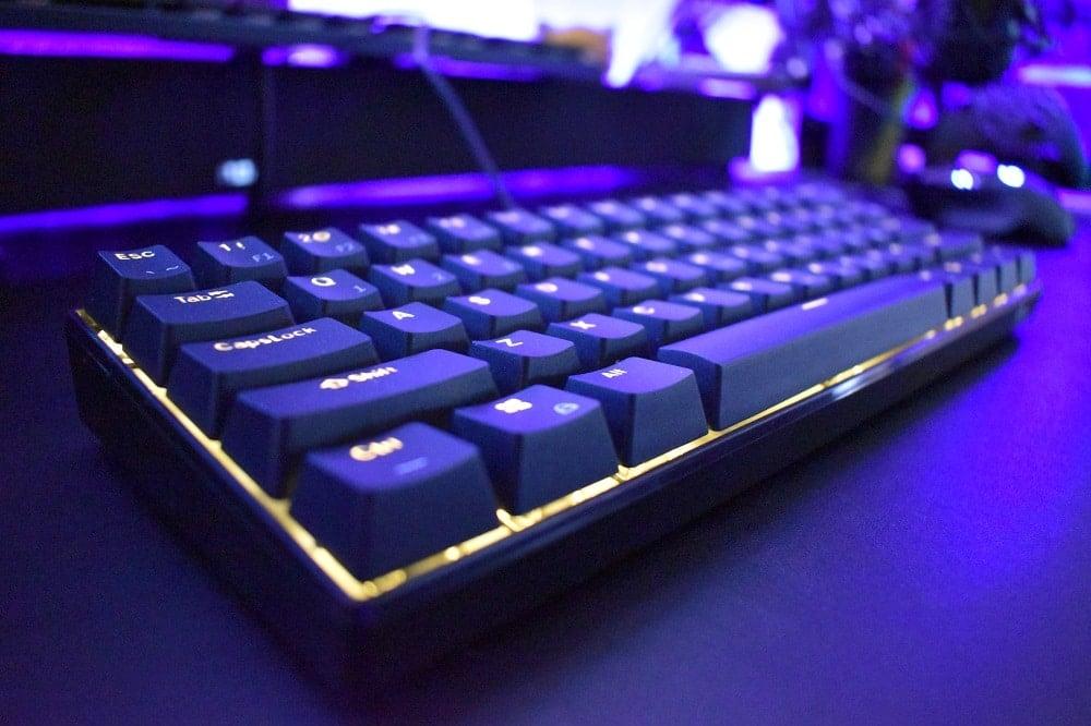 Royal Kludge RK61 60 Percent Keyboard Review 3 Lighting