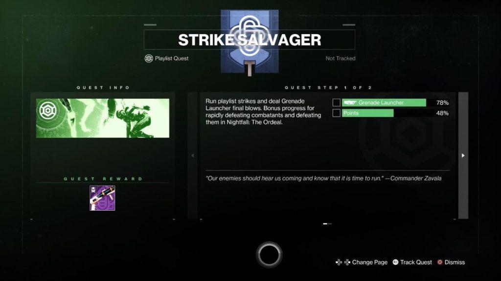 Strike Salvager