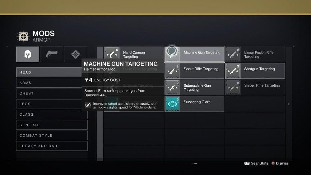 Targeting Mods