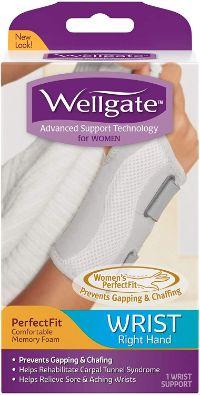 Wellgate for Women PerfectFit Wrist Brace for Wrist Support