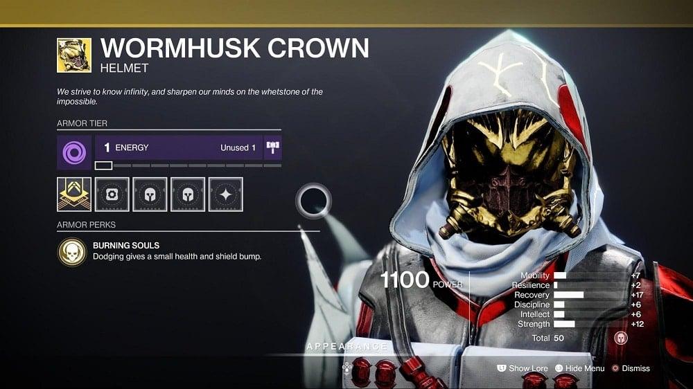 Wormhusk Crown - Hunter Builds 6