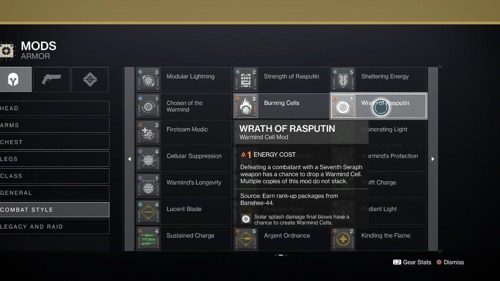 Wrath of Rasputin Mod