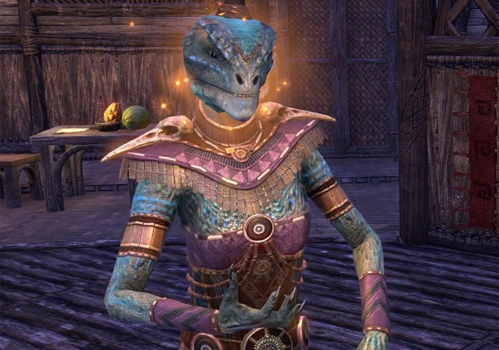 Argonian ESO Best Warden