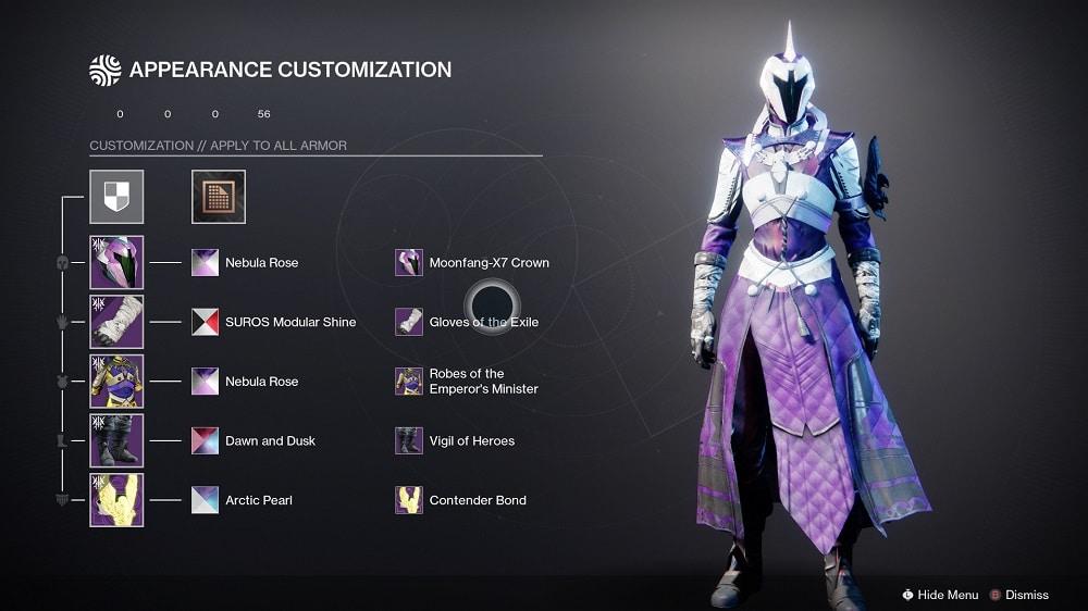 Destiny 2 Trasnmog Armor 2