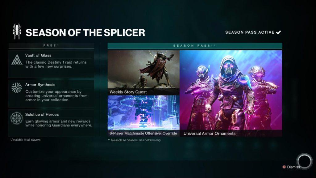 Splash Screen Seaason of the Splicer