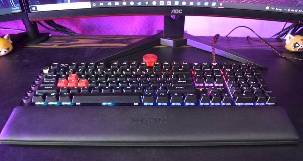 AOC AGK700 Keyboard 6