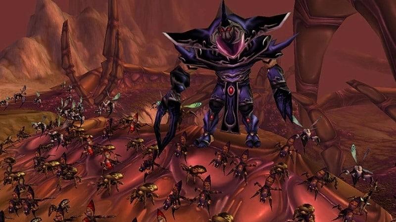 Black Silithid Enemies