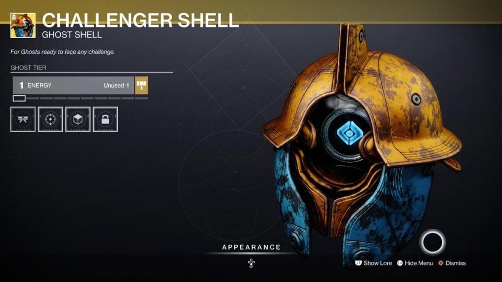 Challenger Shell