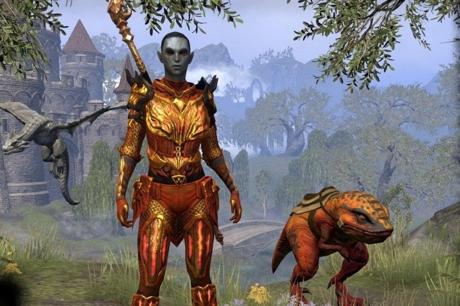 Dark Elf Magicka DPS Dragonknight