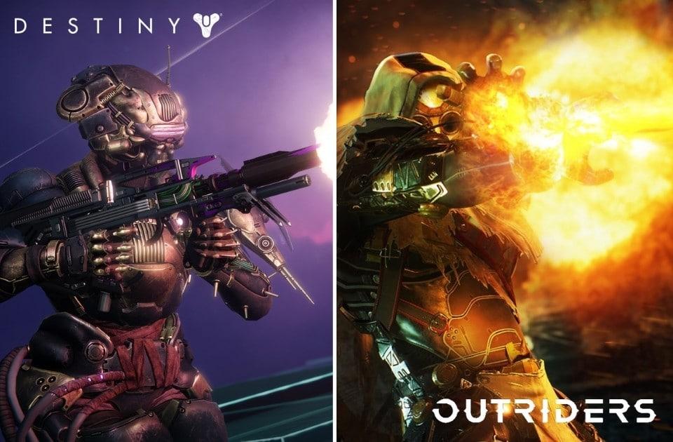 Destiny 2 vs Outriders 2