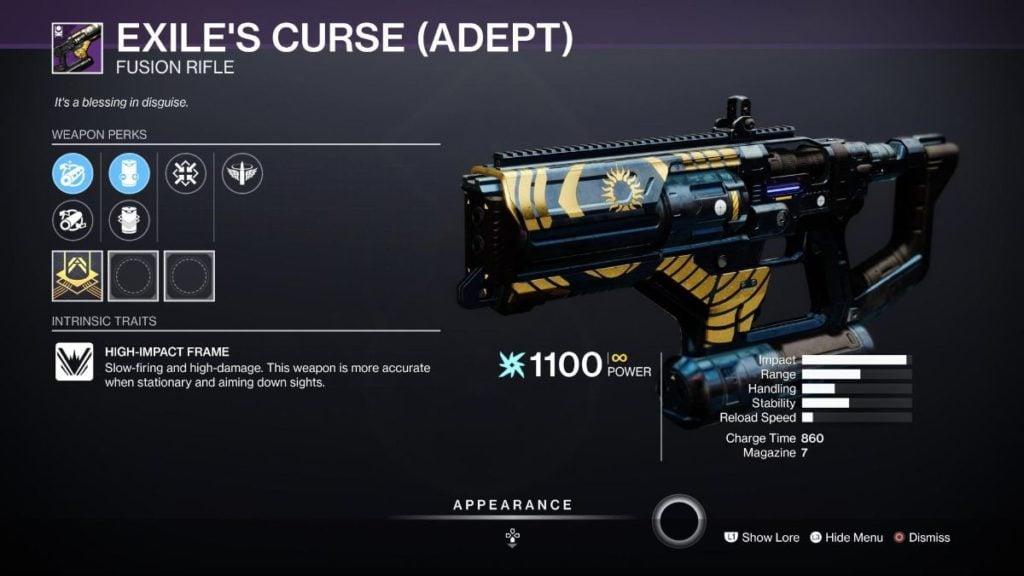 Exile's Curse