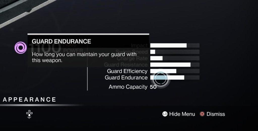 Guard Endurance