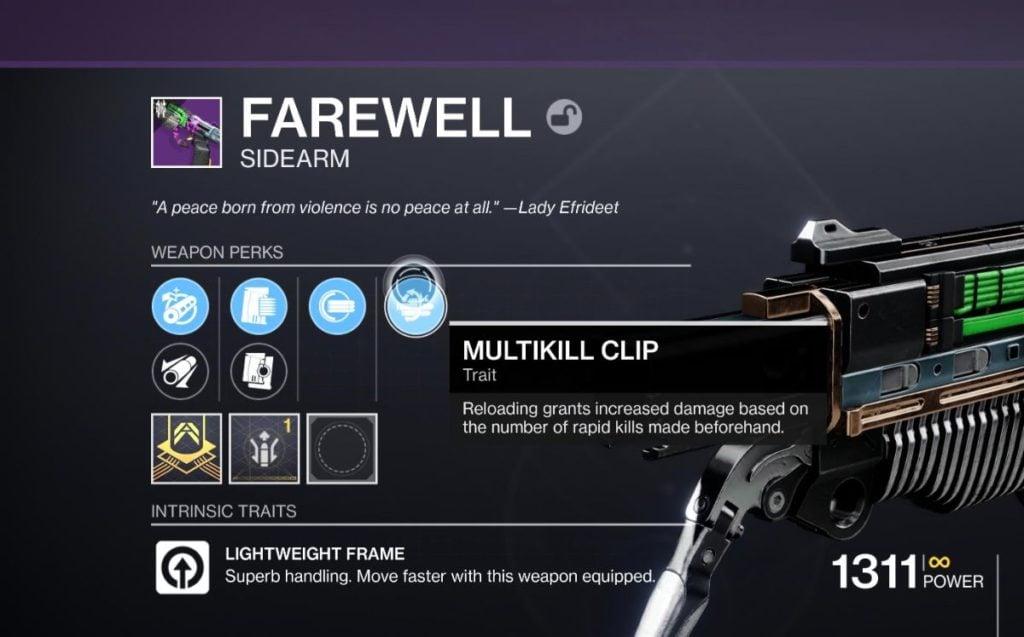 Multikill Clip
