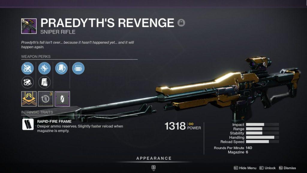 Praedyth's Revenge