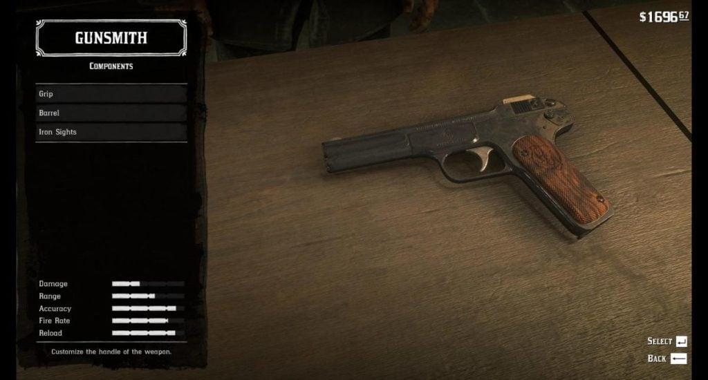 RDR2 Pistols 13