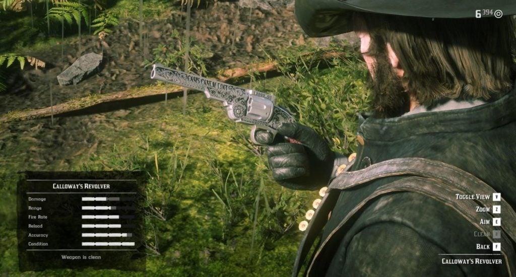 RDR2 Pistols 4