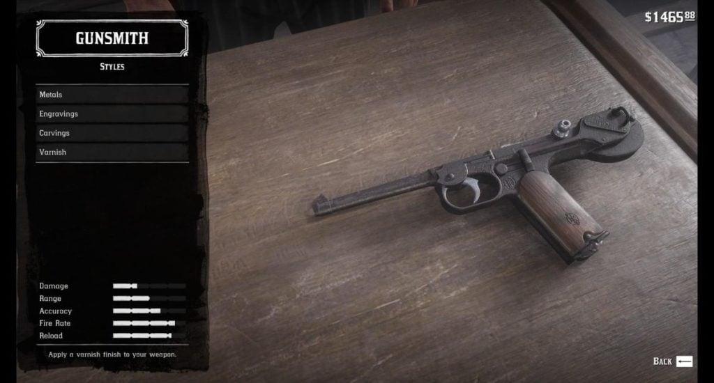 RDR2 Pistols 6