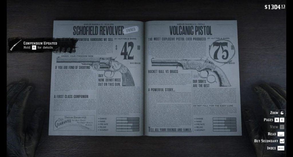 RDR2 Pistols 9
