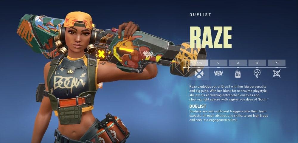 Raze Agent