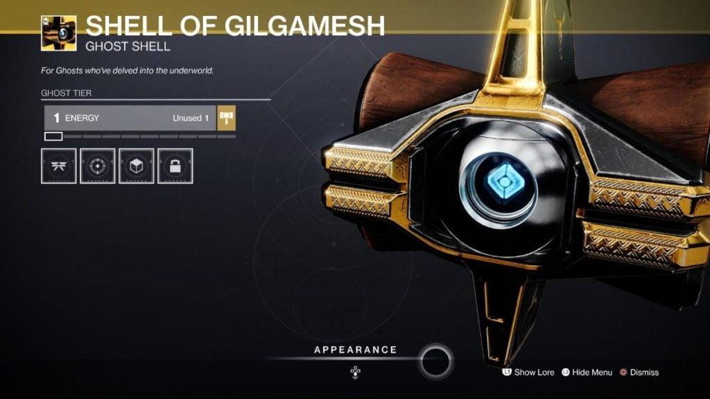 Shell of Gilgamesh