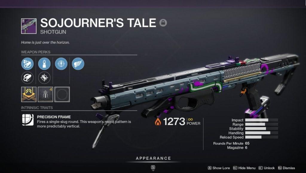 Sojourner's Tale