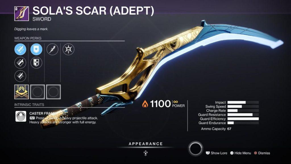 Sola's Scar
