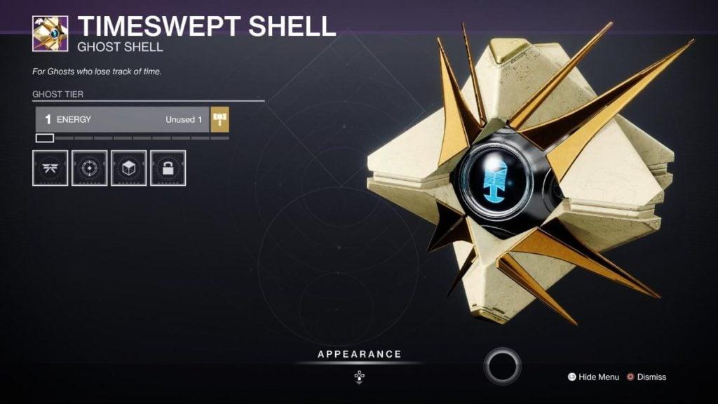 Timeswept Shell