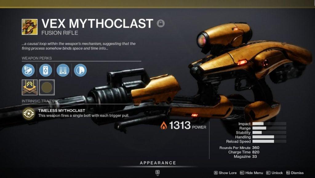 Vex Mythoclast