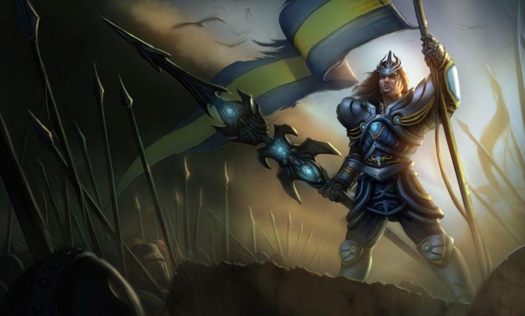 4) Victorious Jarvan IV - Rarest skins in LoL