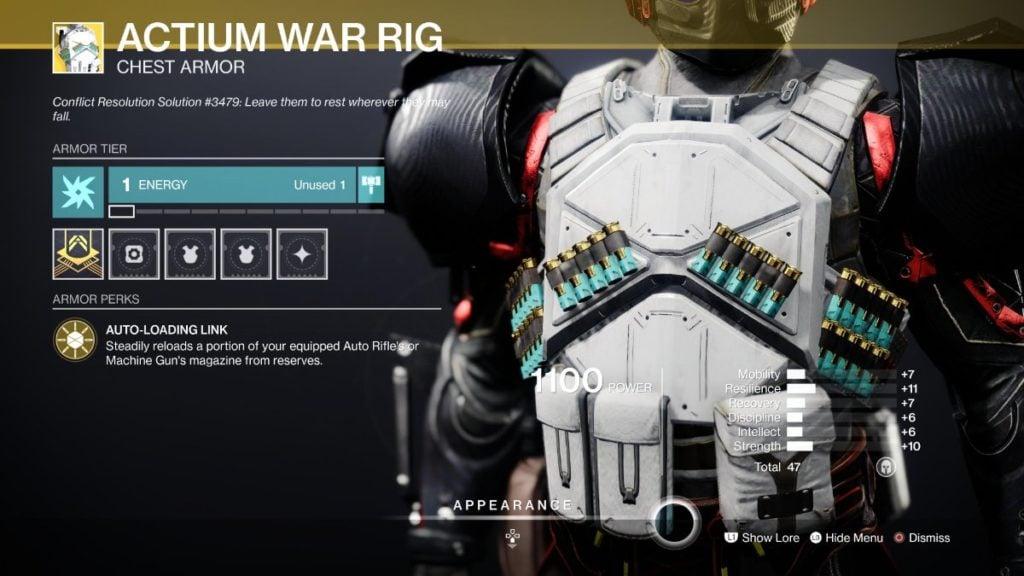 Actium War Rig