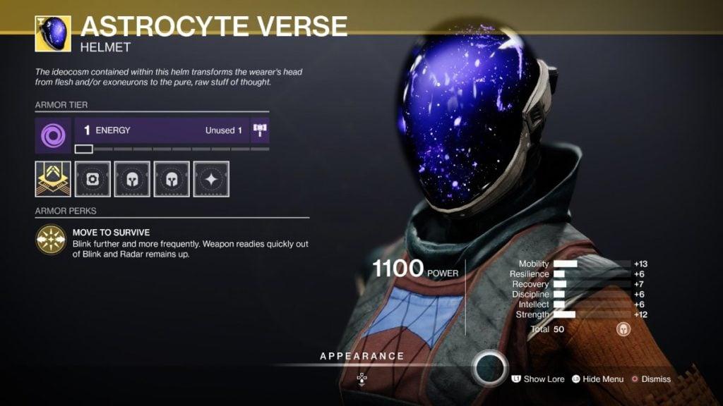 Astrocyte Verse