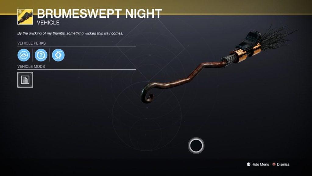 Brumeswept Night