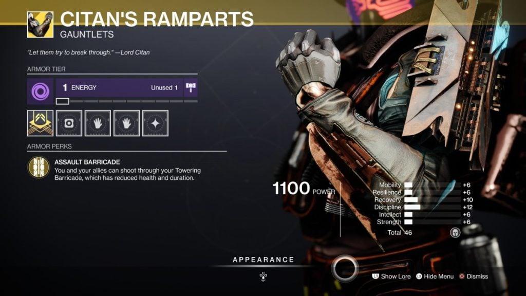 Citan's Ramparts