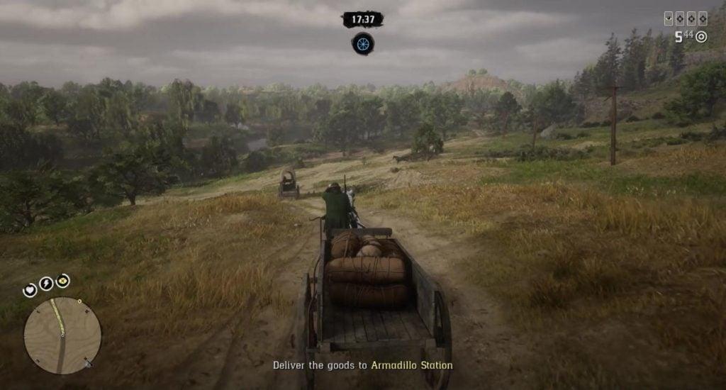 Driving a Wagon